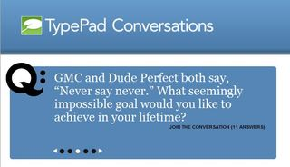 TypePad Conversations GMC Question